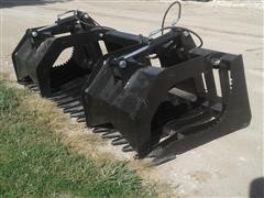 "2020 Patriot 80"" Rock/Grapple Bucket Skid Steer Attachment"
