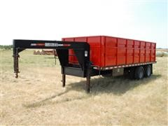 2004 Blue Diamond T/A Modified Dump Trailer