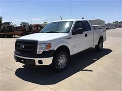 2013 Ford F150 4x4 Extended Cab Pickup