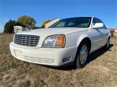 2002 Cadillac Deville 4 Door Sedan