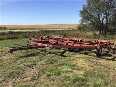White 427 Chisel Plow With Rotary Tine Harrow