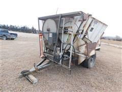 Harsh Mobile Mix Feeder Mixer Wagon