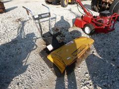 Sweepster 036 3' Wide Mechanical Parking Lot/Side Walk Broom