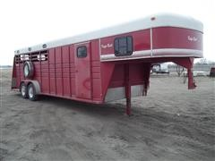 1996 Keifer Built Renegade Livestock Trailer