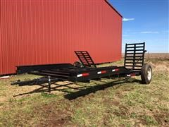 Shop Built Sprayer Trailer