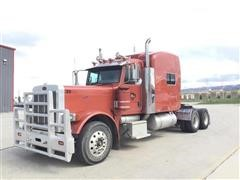 2007 Peterbilt 379 T/A Truck Tractor W/Walk-In Sleeper
