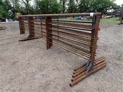 D&S Welding Medium Duty W/(1)12'Gate Freestanding Livestock Panels