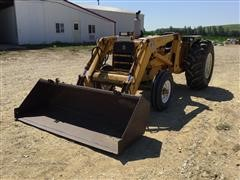 International 2510 2WD Utility Tractor & Loader