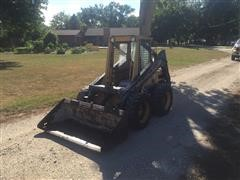 New Holland L555 Skid Steer