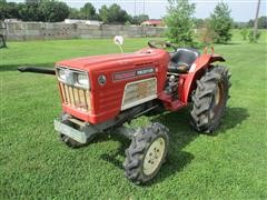 Yanmar YM2010D MFWD Compact Tractor