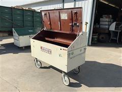 Jobox Steel Slope Lid Storage Box