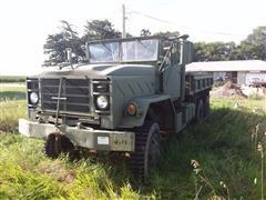 1984 AM General M923 6x6 Army Cargo Truck