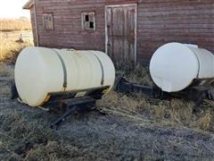 Agri-Products 300 Gal Saddle Tanks