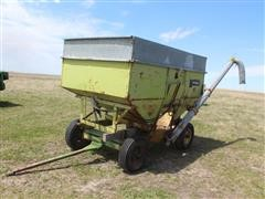 """Parker Gravity Wagon W/Hydraulic 6"""" Auger, Tip Tops"""