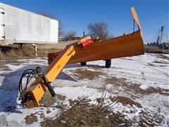 2019 Industrias America 160 R Pull Type Grader Blade 16' 8 Way Hydraulics