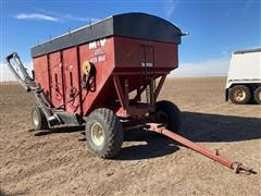 M&W #300 Little Red Wagon Gravity Wagon W/hyd Drill Fill Auger