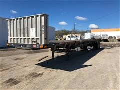 2007 Transcraft TL-2000 Normal Duty T/A Flatbed Trailer