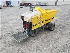 Wacker WB 16 Power Buggy/Concrete Buggy/Power Wheel Barrow