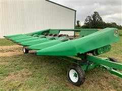 1984 John Deere 643 Header & Trailer