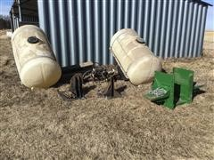 Helicopter 300 Gallon Saddle Tanks