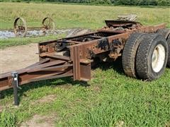 2-Axle Dolly Wheel Trailer