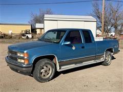 1994 Chevrolet Silverado 1500 4X4 Extended Cab Pickup