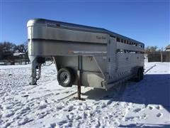 2000 Keifer T/A Livestock Trailer