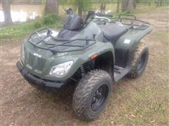 2014 Arctic Cat 400 4X4 ATV
