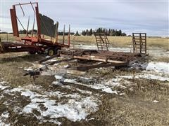 Shop Built Swather/Header Trailer