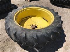 John Deere Rim W/15.5-38 Goodyear Tire
