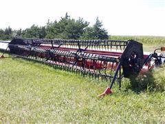 2004 Case IH 1020 30' Flex Platform w/ Cary Air Reel