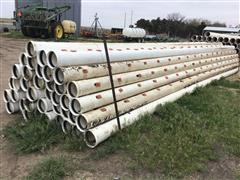 "Diamond 8"" Plastic Pipe"
