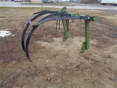 John Deere 158 Loader 2-Tine Grapple Fork