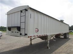 2011 Construction Trailer Specialist T/A Hopper Bottom Grain Trailer