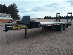 2014 Kaufman T/A Flatbed Trailer