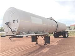 1980 Trailmobile T/A Tanker Trailer