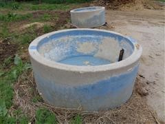 Johnson 250 Gal Cement Water Tanks
