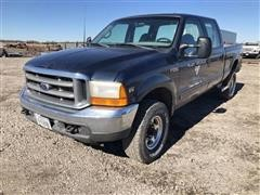 2001 Ford F250 XLT Super Duty 4x4 Crew Cab Pickup
