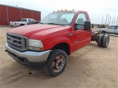 2003 Ford F-550 Cab And Chassis