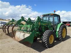 2006 John Deere 6420 MFWD Tractor