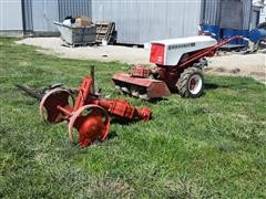 Gravely L8 Super Convertible Tractor W/ Attachments