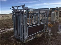 Pearson 9S Cattle Squeeze Chute
