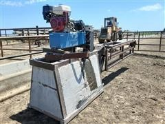 Remote Controlled Hydraulic Gate