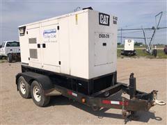 2008 Caterpillar XQ100-6 100 Kw Portable Generator Set