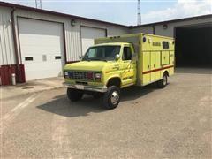 1986 Ford E350 4x4 Rescue Truck