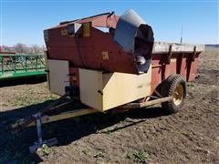 Schuler 175 Cycle Mix Mixer/Feeder Wagon