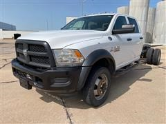 2013 Ram 5500HD 4x4 Crew Cab Dually Cab & Chassis
