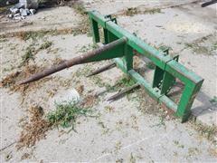 John Deere 100 Bale Spear And Bale Fork