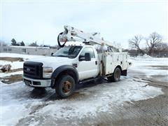 2009 Ford F550 Dually 4x4 Bucket Truck