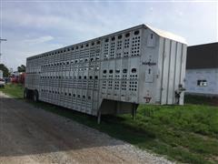 2003 Eby Possum Belly Livestock Trailer